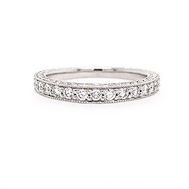 Scott Kay B1107RD10PP Platinum Diamond Ring