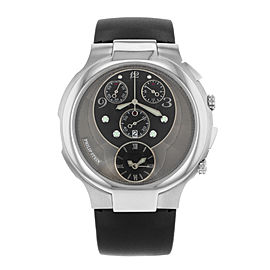 Philip Stein Chrono 9-CRB3-CB 46mm Mens Watch