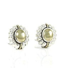 Lagos Caviar Sterling Silver Earrings