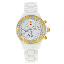 Michele Jetway MWW17B000001 39mm Womens Watch