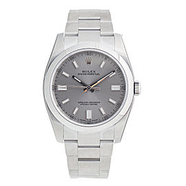 Rolex Oyster Perpetual 116000RSO Stainless Steel Automatic Rhodium Dial 36mm Watch