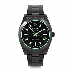 Rolex Milgauss PVD with Green Accent Dial 40mm Watch