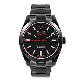 Rolex Rolex Milgauss 116400 DLC-PVD Black 40mm 116400