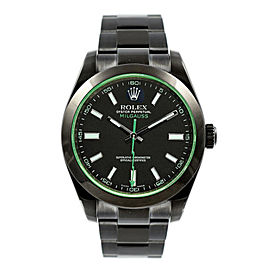 Rolex Milgauss 116400GV DLC-PVD 40mm Men's Watch