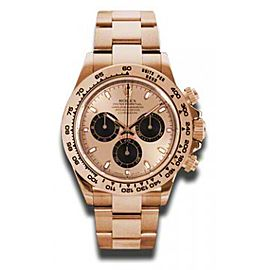 Rolex Daytona Rose Gold Rose Champagne Dial 40mm Watch