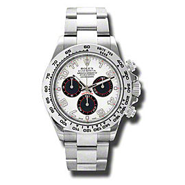 Rolex Daytona White Gold White Dial 40mm Watch