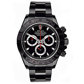 Rolex Daytona 116520 Black Dial 40mm Mens Watch