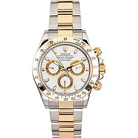Rolex Daytona 116523 White Dial 40mm Mens Watch
