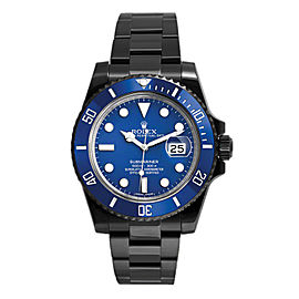 Rolex Submariner 116610 Blue DLC-PVD