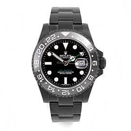 Rolex GMT Master II Matte PVD 40mm Watch