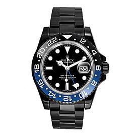 Rolex GMT Master II 116710 Blue DLC-PVD 40mm Men's Watch