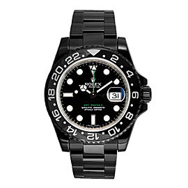 Rolex GMT Master II 116710 DLC-PVD 40mm Men's Watch