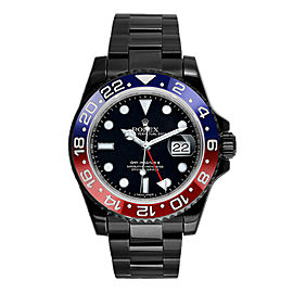 Rolex GMT Master II 116710 Ceramic Pepsi DLC-PVD 40mm Men's Watch