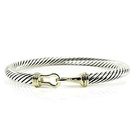 David Yurman Buckle Sterling Silver Bracelet