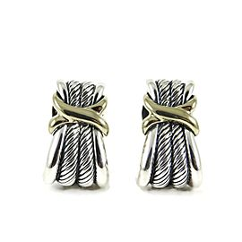 David Yurman X Collection Sterling Silver Earrings