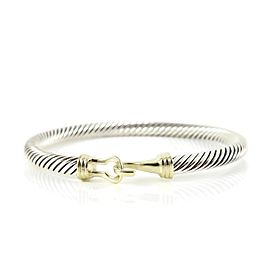David Yurman Buckle Sterling Silver Bracelet