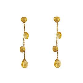 Marco Bicego Citrine & 18k. Gold Earrings