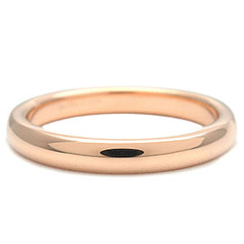 Tiffany & Co. 1P Diamond 18k Rose Gold Stacking Band Ring