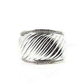 David Yurman Silver Ice Sterling Silver .84tcw Diamond Bracelet