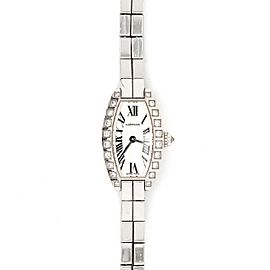 Cartier 18k White Gold Diamond Watch