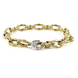 Roberto Coin Appassionata 18k Yellow Gold .19tcw; G-H;VS2-SI1 Diamond Bracelet
