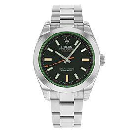 Rolex Milgauss 116400V bko 40mm Mens Watch