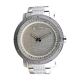Jojino/Jojo/Joe Rodeo MJ-8020 Icy Genuine Full Illusion Dial Diamond Mens Watch