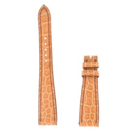New Authentic Roger Dubuis Much More M25 17mm Medium Naked Crocodile Strap