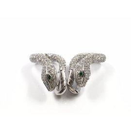 Boucheron Others Diamond, Emerald Womens Earrings