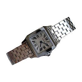 Cartier Santos W25064Z5 Demosille Stainless Steel Womens Watch