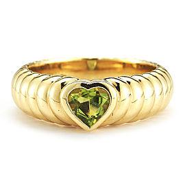 Tiffany & Co. Peridot Yellow Gold Ring