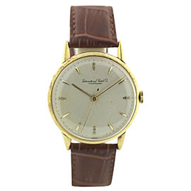 IWC Schaffhausen Vintage 34mm Mens Watch