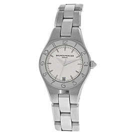 Baume & Mercier Linea MOA10009 Stainless Steel 27 mm Womens Watch
