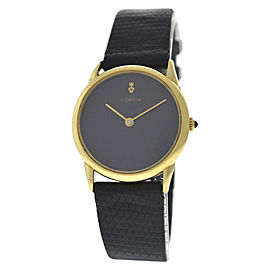 Corum 18K Yellow Gold / Leather 29 mm Womens Watch