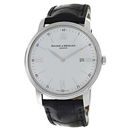 Baume & Mercier Classima 65493 Stainless Steel Quartz 41mm Mens Watch
