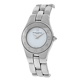 Baume & Mercier Linea 65305 Stainless Steel Quartz 24mm Womens Watch