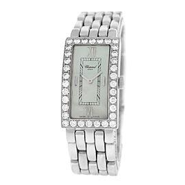 Chopard Les Classiques 10/7045/8-20 18K White Gold Quartz 18mm Womens Watch