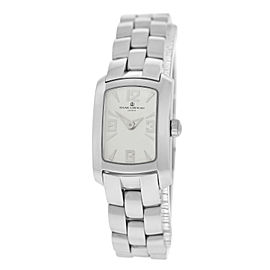 Baume & Mercier Hampton Milleis Mini 65340 Stainless Steel Quartz 17mm Womens Watch