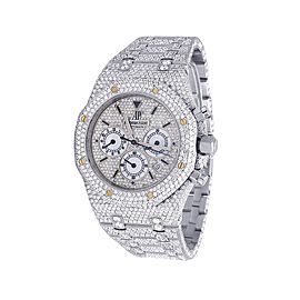 Audemars Piguet Royal Oak 25860ST.OO.1110ST.05 Stainless Steel with 27.75ct Diamond Automatic 39mm Mens Watch