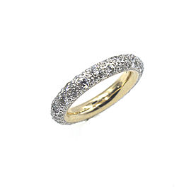 Pomellato Tango 18K Yellow Gold with 1.91ct of Diamond Band Ring Size 6