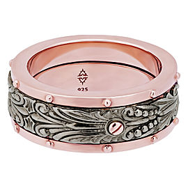 Stephen Webster 925 Sterling Silver London Calling Spinner Ring Size 10