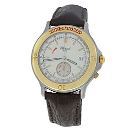 Chopard 1000 Mille Miglia 8162 Stainless Steel & 18K Yellow Gold Quartz 37mm Mens Watch
