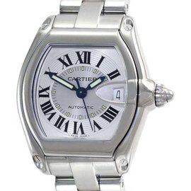 Cartier Roadster W62025V3 Stainless Steel Automatic 37mm Mens Watch