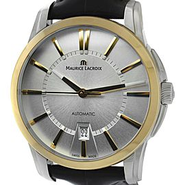 Maurice Lacroix Pontos PT6148-PS101-130 Stainless Steel & 18K Rose Gold Automatic 39mm Mens Watch