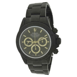 Rolex Daytona Black Out Bamford 116520 Black PVD coated Stainless Steel Automatic 40mm Mens Watch