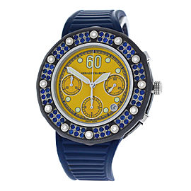 Gerald Charles Seaside GC9 Stainless Steel / Silicone / Rubber with Diamond & Ruby Automatic 43mm Watch
