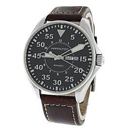 Hamilton Khaki Aviation Pilot H646110 42mm Mens Watch