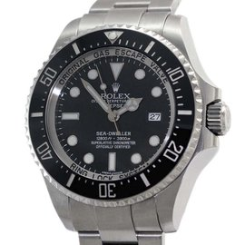 Rolex Deepsea Sea Dweller 116660 Black Dial Stainless Steel 43mm Mens Watch