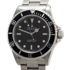 Rolex Submariner No Date 14060 Black Dial Stainless Steel 40mm Mens Watch 2000