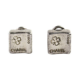 Chanel 925 Sterling Silver Clip On Earrings